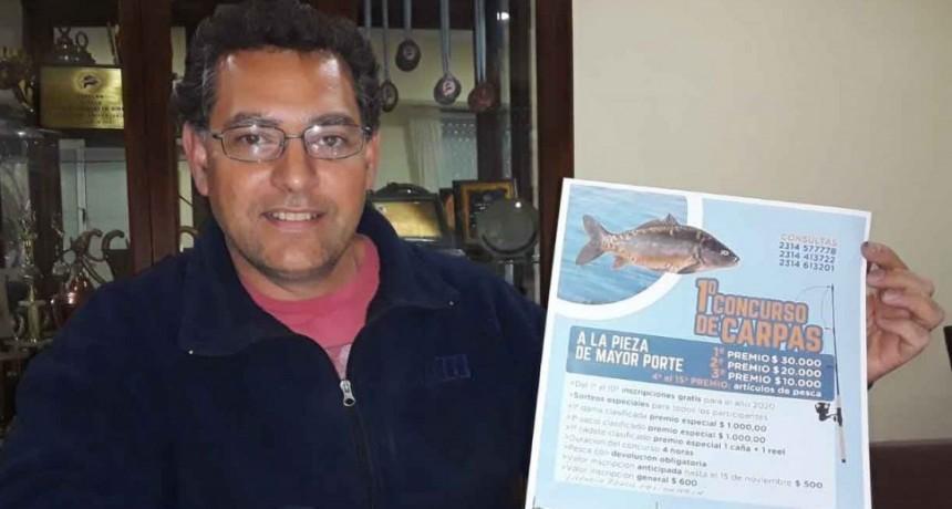 Laguna San Luis: Comienza la inscripción para el primer concurso de carpas a la pesca de mayor porte y con devolución