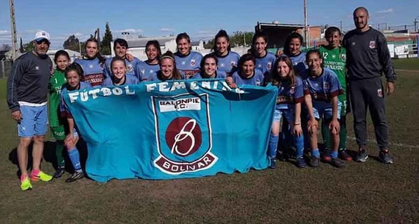 Futbol femenino: Balonpie ganó el partido amistoso ante Independiente