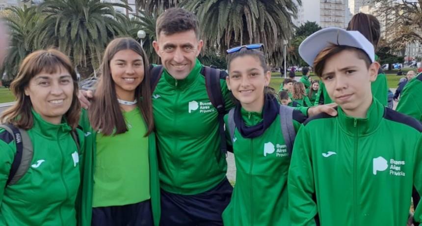 La Escuela Municipal de Ciclismo participó en los Juegos Nacionales Evita