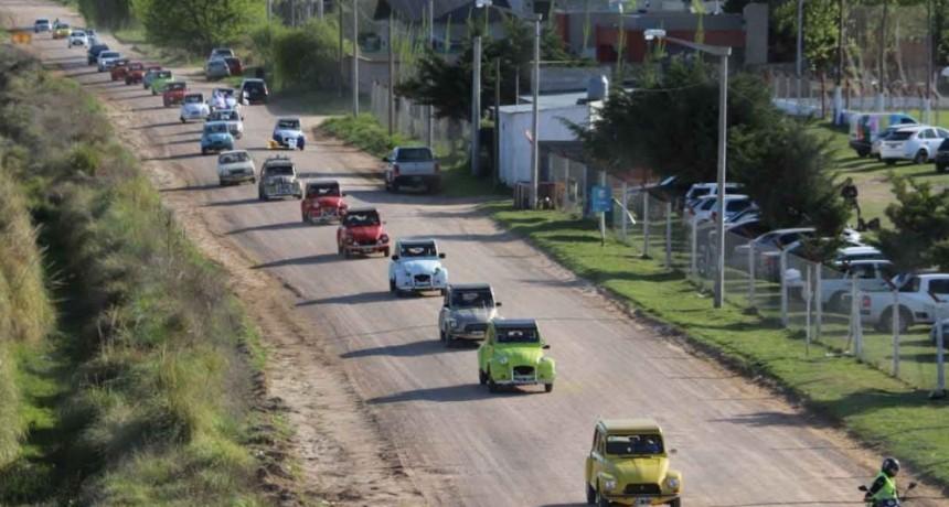 El Intendente Pisano acompañó el Primer Encuentro Solidario de Citroën