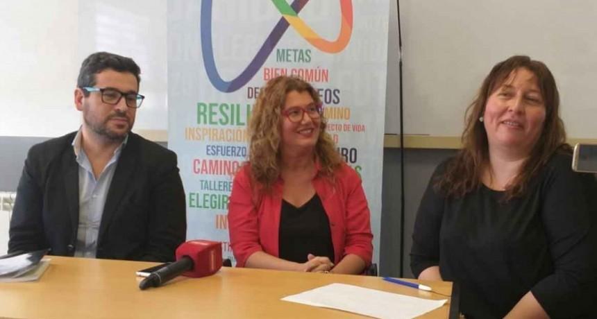 En el marco del 14° Encuentro Distrital Educativo Y Cultural se brindará una charla a cargo del Dr. Claudio García Pintos