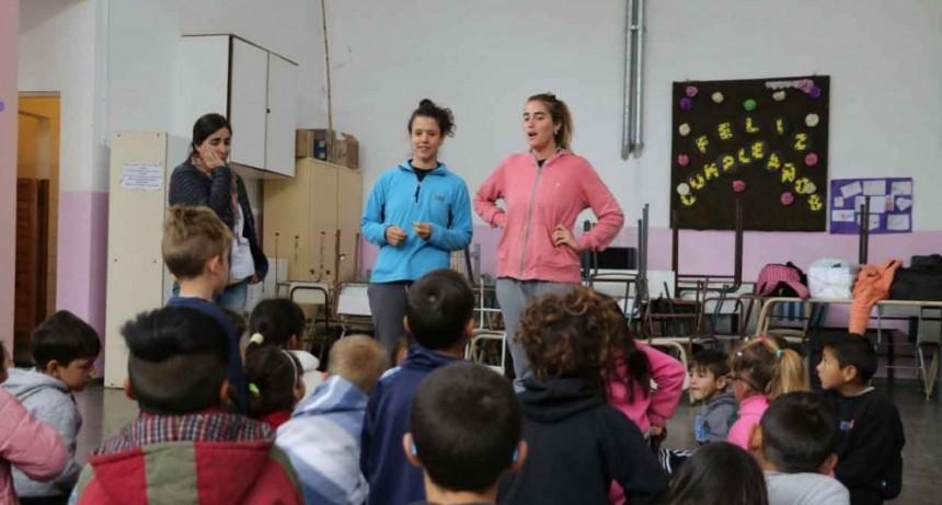 La Dirección de Niñez brindó un taller en el CEC de Villa Diamante
