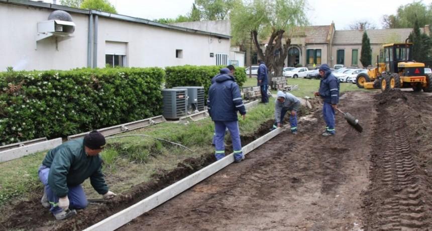 La Municipalidad continúa realizando obras en diferentes puntos de la ciudad