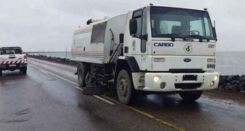 Ruta 7: Este domingo se habilitará nuevamente el paso vehicular sobre la laguna La Picasa