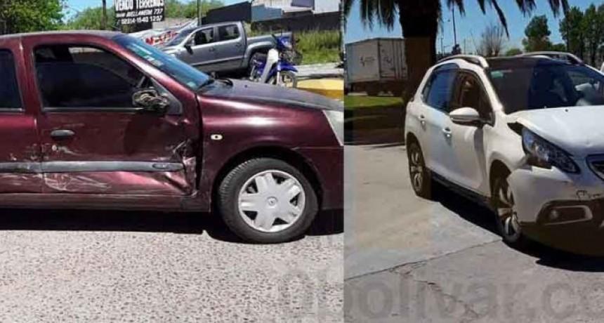 Se registro un nuevo impacto durante la mañana de este sábado; en este casi sin consecuencias para los conductores