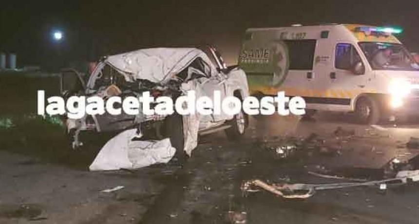 Chivilcoy: Un hombre perdió la vida en un siniestro vial en Ruta 5