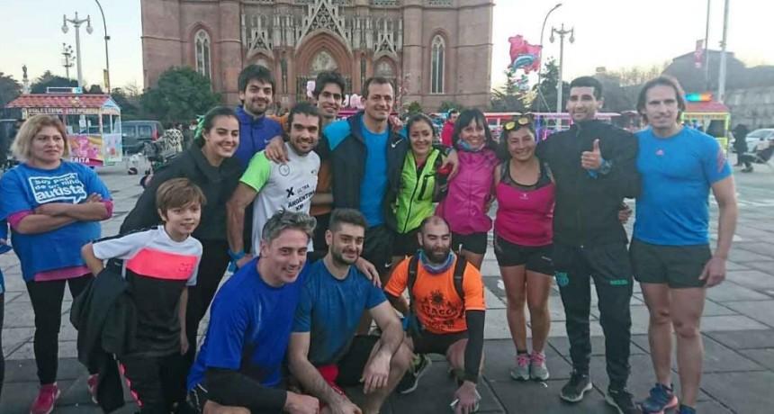 Bucca cierra la campaña habiendo corrido 1000 kilómetros por los niños