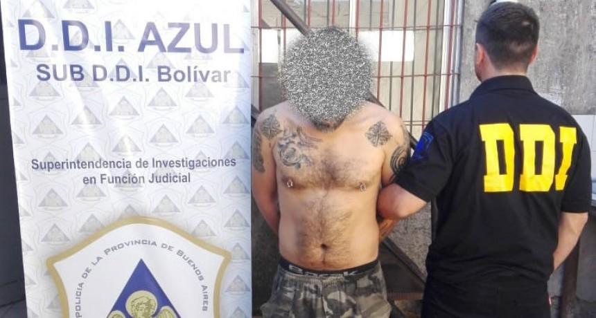 Se hizo efectiva la detención de un masculino acusado de abuso sexual