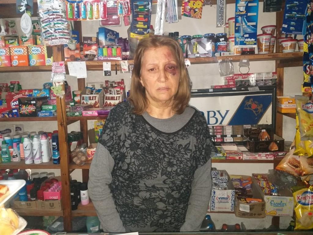 Robo y agresión en una despensa: Aprehendieron al autor