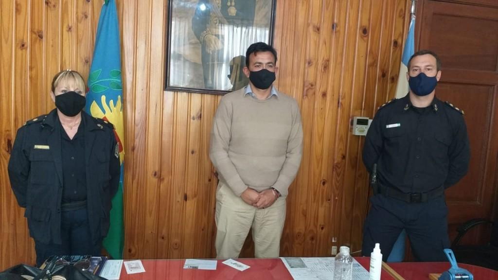 Asumieron las nuevas autoridades policiales en Bolívar