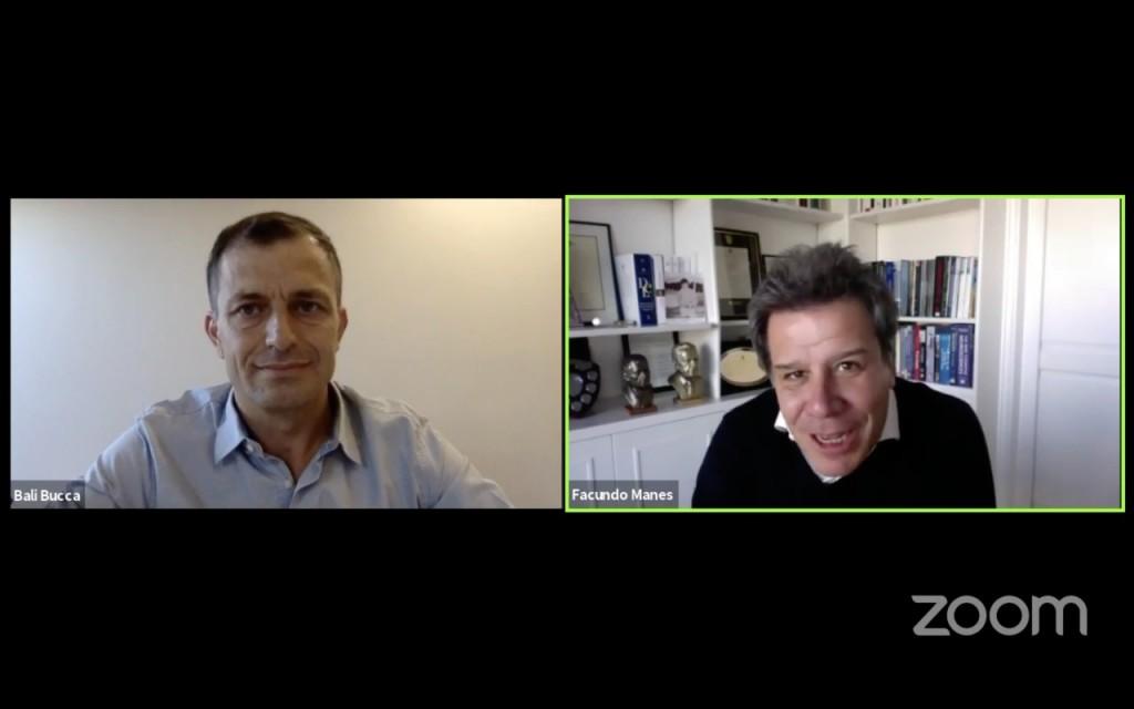 Bucca se entrevistó con Facundo Manes