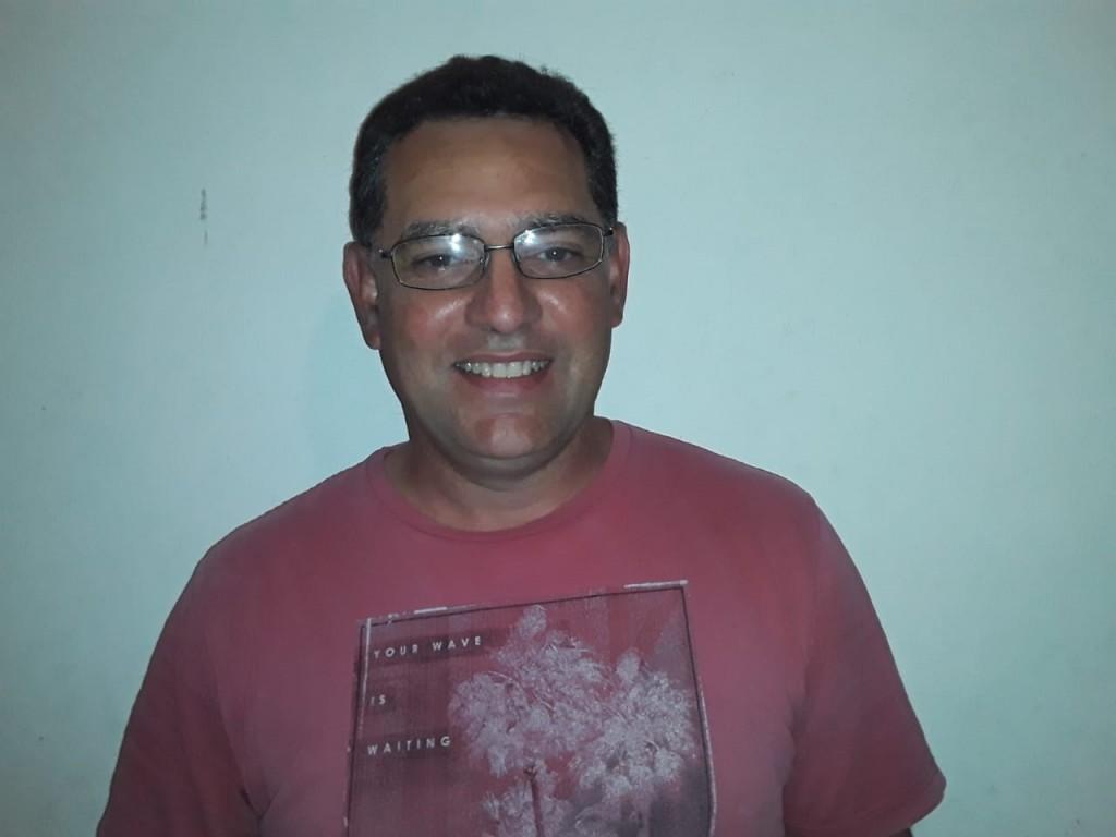 """Martín Moreno: """"La gente está disfrutando de la laguna, y nosotros nos sentimos así muy acompañados"""""""