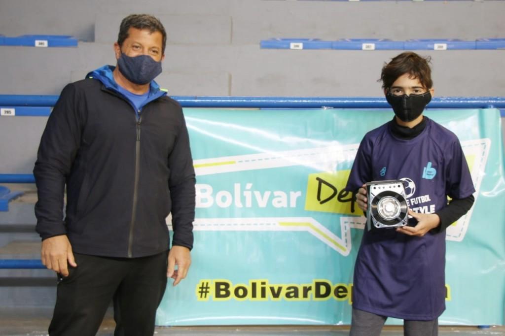 Fútbol Freestyle, se entregaron los premios en la Dirección de Deportes