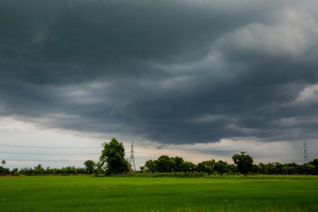 Este domingo: lluvias que van desde los 15 hasta los 80 milímetros