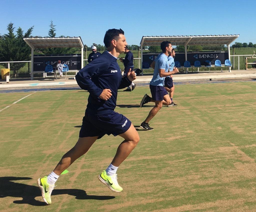 Comenzaron los entrenamientos en el Club Ciudad de Bolívar