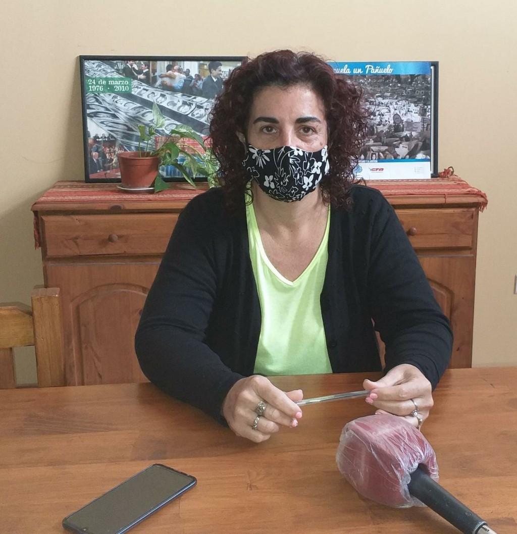 """Rosana Sánchez (SUTEBA): """"Cada auxiliar y cada docente debe estar preparado y capacitado con las medidas necesarias para evitar riesgos"""""""