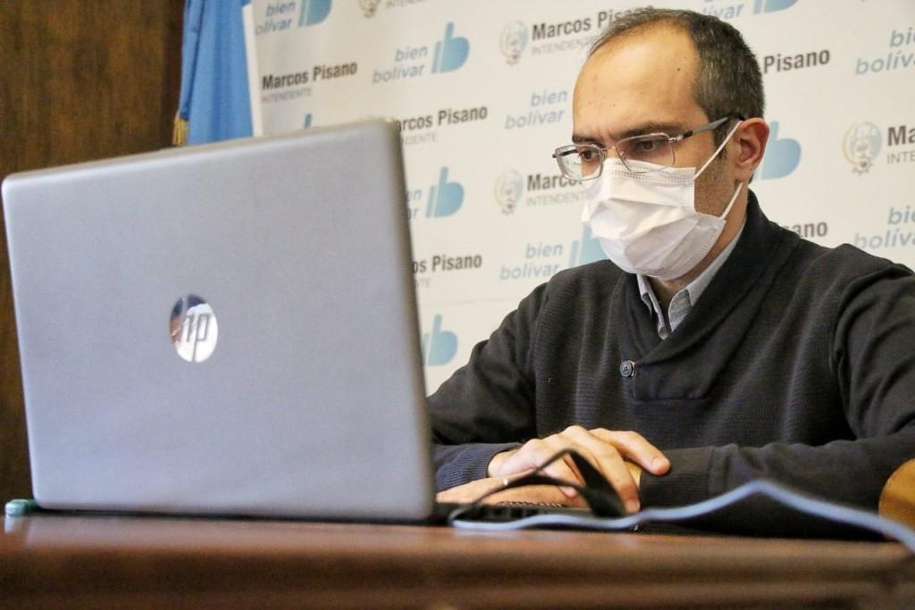 Evaluaron la situación epidemiológica del partido de Bolívar