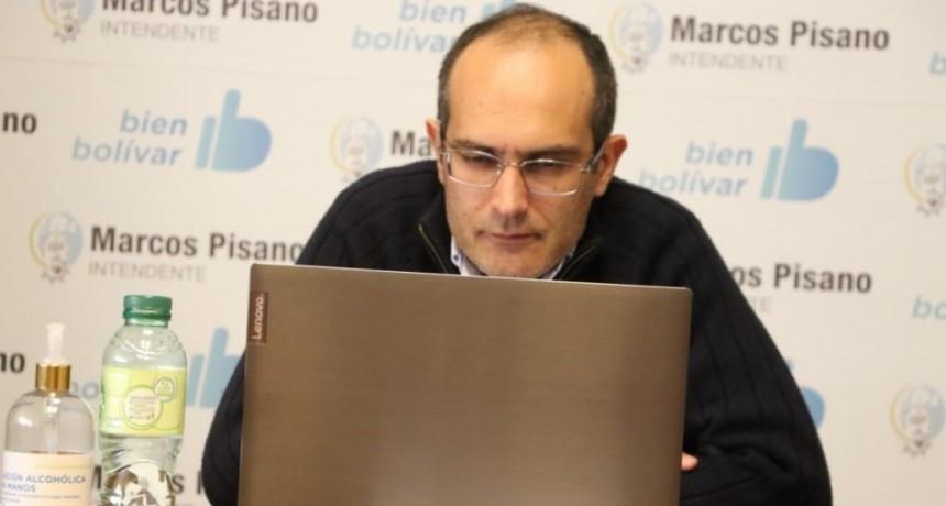 Marcos Pisano participó de la licitación para Repavimentación de Ruta 65