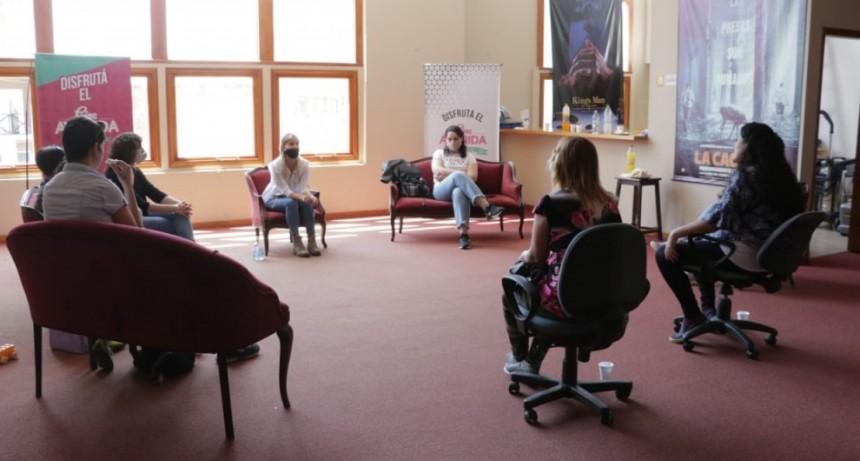 Potenciar Trabajo: se llevó a cargo el primer encuentro de mujeres