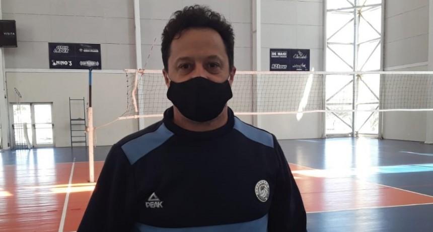 """Rodrigo Martínez Granados: """"Contento de ver nuevamente a los chicos y al club con actividad después de siete meses"""""""