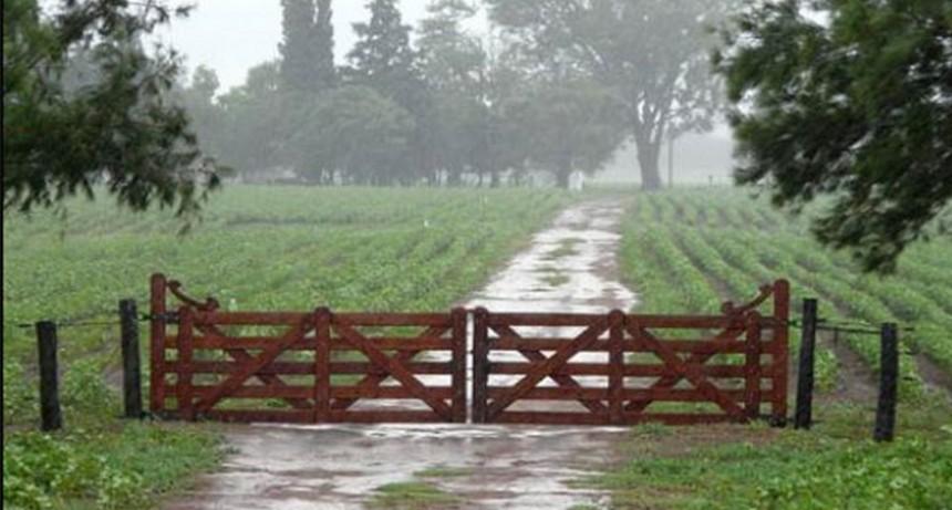 Lluvias en la zona con registro de 10 a 25 milímetros