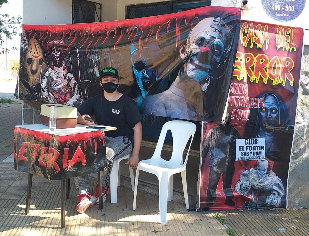 El laberinto del Terror estará presente en el SUM del Club El Fortín