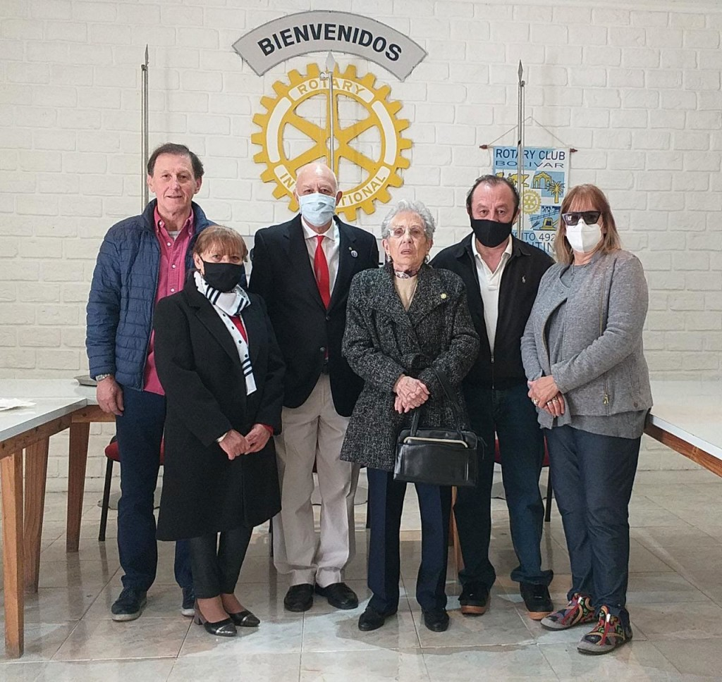Rotary club homenajeó a Ismael Alonso; un rotario recordado por nobleza, humildad y dedicación