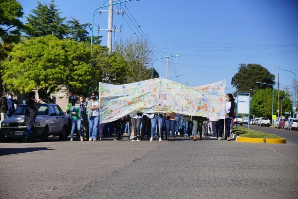 Salud Mental: Se realizó la séptima marcha por la inclusión