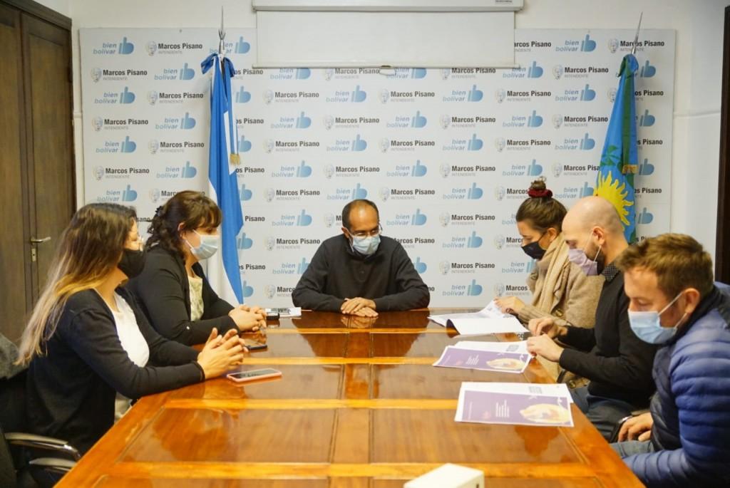 Pisano recibió a la Coordinadora del programa 'GENERAR', que pertenece al Ministerio de Mujeres, Géneros y Diversidad de la Nación