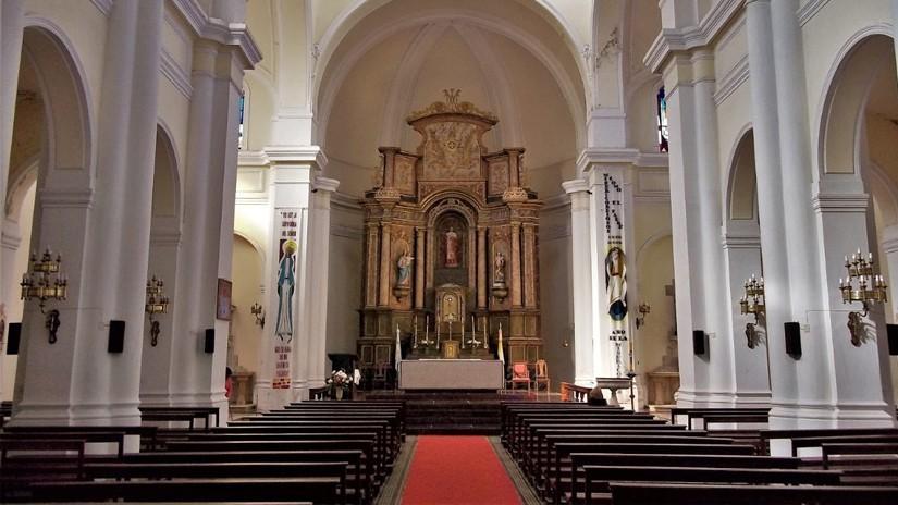 Hoy se desarrolló la reunión de los sacerdotes de la Vicaría de Olavarría, presidida por el obispo Monseñor Hugo Manuel Salaberry
