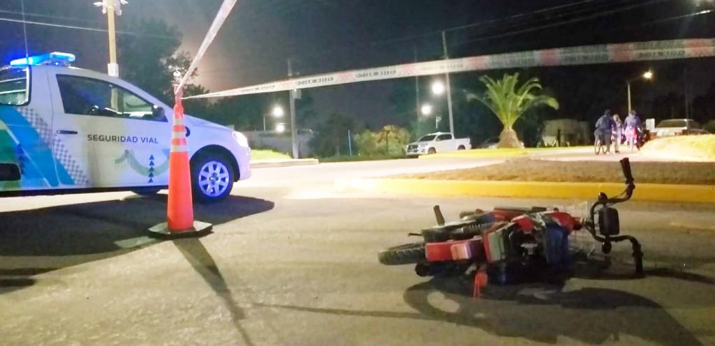 Accidente en Coliqueo y Centenario