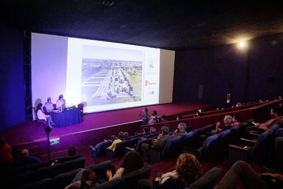 Pisano, Bucca y Moriones presentaron el nuevo desarrollo urbanístico 240 viviendas PROCREAR
