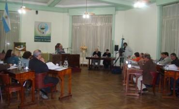 Honorable Concejo Deliberante: Novena Sesión del año
