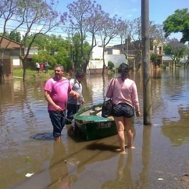 Luján: pidieron suspender donación de ropas y acercar artículos de limpieza