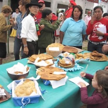 Del Valle: Organizan la 4ta. Fiesta regional de la torta frita.