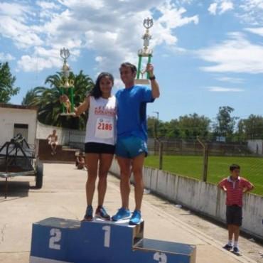 Atletismo: Juan Manuel Chaves y Antonella Albo fueron los ganadores