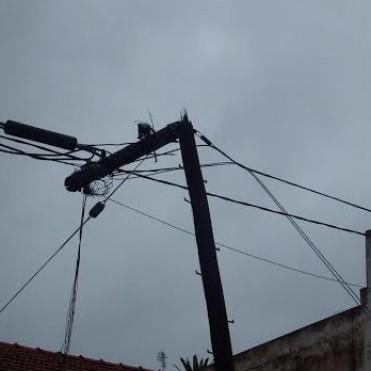 Ultimo momento: varios destrozos ocasionó el temporal en Bolívar