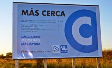 En Pehuajó se anuncia la construcción de una rotonda en Ruta 5 y Acceso Néstor Kirchner