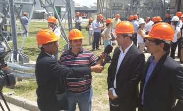 Eduardo Bucca visitó Atucha II