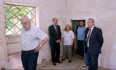 Jueces recorrieron ex centros clandestinos de Tandil, Las Flores y Olavarría