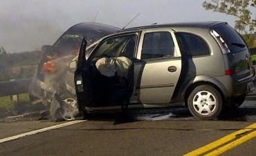 Este miércoles: Grave accidente en Ruta Nacional 205