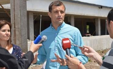 El intendente presentó los avances de obra de la nueva sede del CRUB