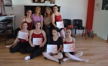 Bailarinas bolivarenses asistieron a las clases de Eleonora Cassano en Olavarría