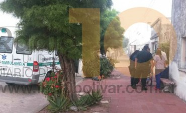 Incendio en calle Leiria: graves daños el interior de una vivienda