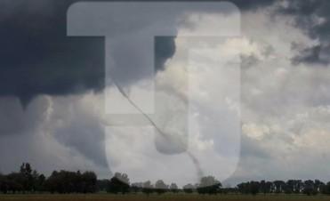 La 'cola' de un tornado pasó por Junín