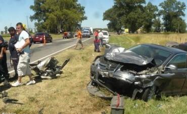 Carlos Casares: Accidente fatal en la Ruta Nacional N°5