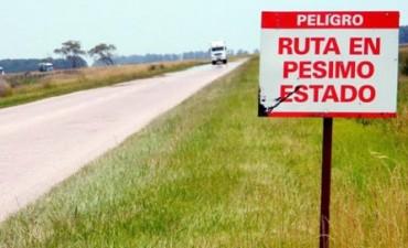 UDUV pedirá a Provincia una rendición de los fondos que no llegaron a arreglar rutas