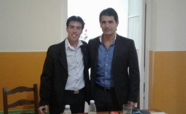 Sergio Viola pasó por Bolívar nuevamente