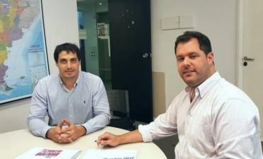 Pablo Bucca se reunió con autoridades del programa 'Festejar'