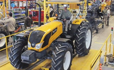 Creció 25,3% la producción total de maquinaria agrícola